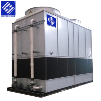 Counter flow cooling tower for steel industry