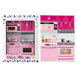 Happy Houses Kitchen Household Appliances Pretend Toys Set For Kids