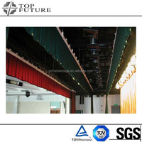 Design classical portable pipe and drape stage backdrop