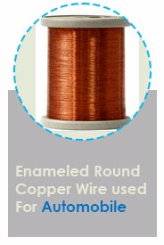 UL Approved 4.06 mm to 0.091 mm Winding Wire Copper Wire H Class Round Enameled Copper Wire Price