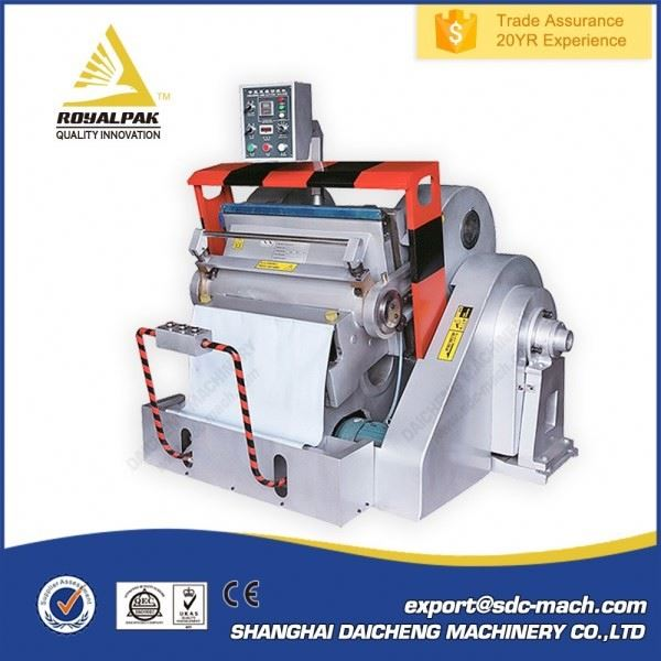 ML Series Quality Supplier pp board creasing machine