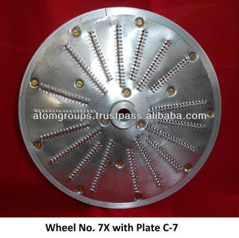 Vegetable Steel slicer blade