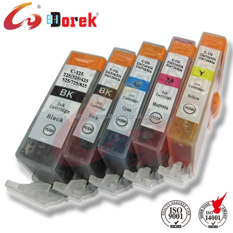 PGI 725 CLI 726 ink cartridge For canon PIXMA IP4870/IP4970 IX6560 MG5160/MG5270/MG5370 /MX887/MX897 printer