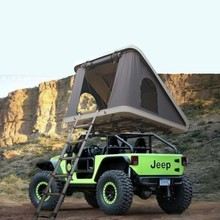 Outdoor Off Road hard shell roof top tent