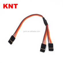 KNT KT-32002B2 RC Servo Lead Y Extension For RC Modle 20cm-90cm