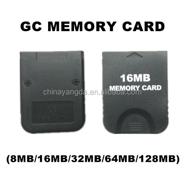New High Quality GC Memory Card For Nintendo GameCube (8MB/16MB/32MB/64MB/128MB)
