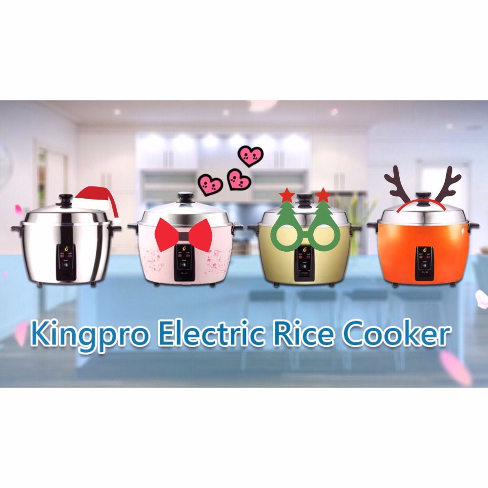 Kingpro Electric Rice Cooker & Steamer