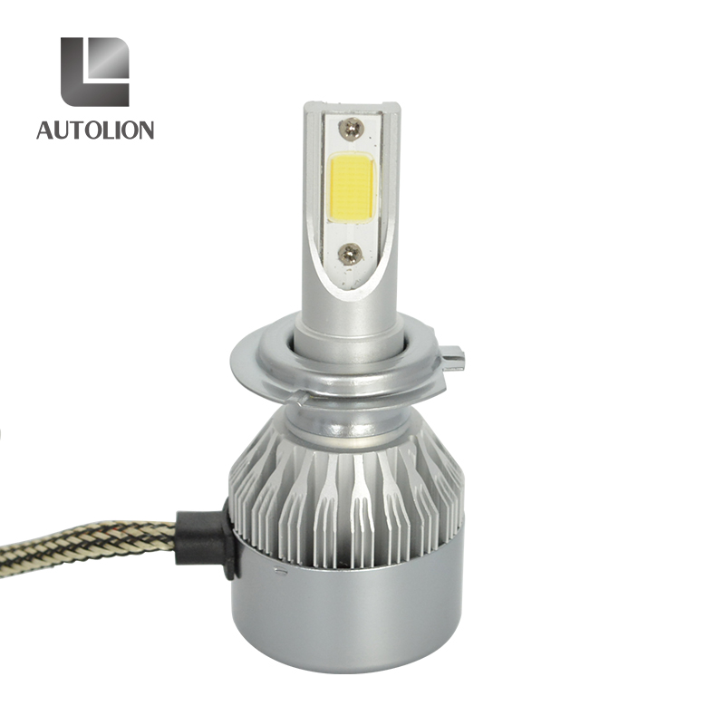 High quality 36w 3600lm COB chips with fan long warranty time auto <strong>led</strong> headlight h1 h3 h4 h11 <strong>l</strong> e d headlight