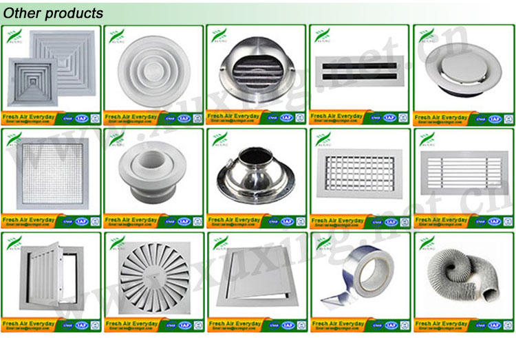 Air Conditioning Diffusers : Ventilation system ball jet diffuser view