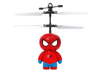 New flying toy!Infrared funciton Induction aircraft character flying vehicle wireless helicopter