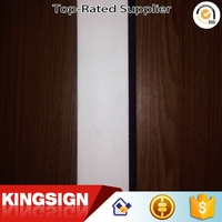 Professional manufacturer High reflective sign material white pvc foam sheet