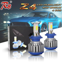 High Power LED Headlight Bulb H7 H11 H16 9005 9006 5202 Light 40W 4000LM 4COB Type Good Quality