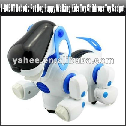i-ROBOT Robotic Pet Dog Puppy Walking Kids Toy Childrens Toy Gadget,YGA418A