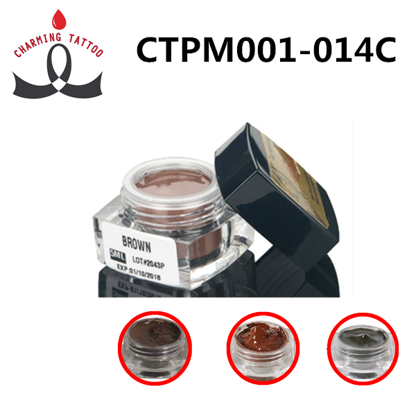 Permanent Makeup Pigment Eyebrow Manual Pen Cream Pigment