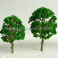 6CM Miniature plastic model trees for real estate or train model