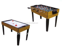4FT indoor sport 2-in-1 multi purpose Soccer Air hockey table