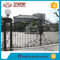 2016 alibaba single simple wholesale exterior philippines gates and fences aluminum gate for garden farm school home school