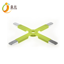 Foldable colander kitchen utility silicone zinc alloy rubber folding trivet