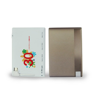 hot new products for 2014 5mm corporate gifts ultra slim aluminum power bank