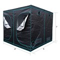 Top Seller Marshydro Indoor Hydroponics Highly Reflective Fabric 600D 1680D Mylar Plant Grow Tent