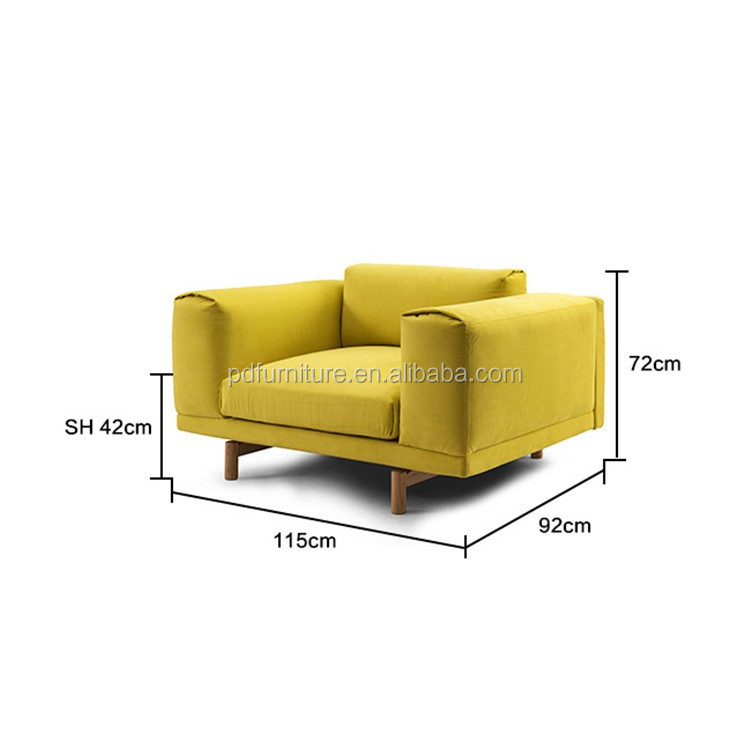 Top quality furniture living room sofa set modern couch fair price sofa