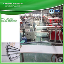 plastic artificial marble stone panel production line