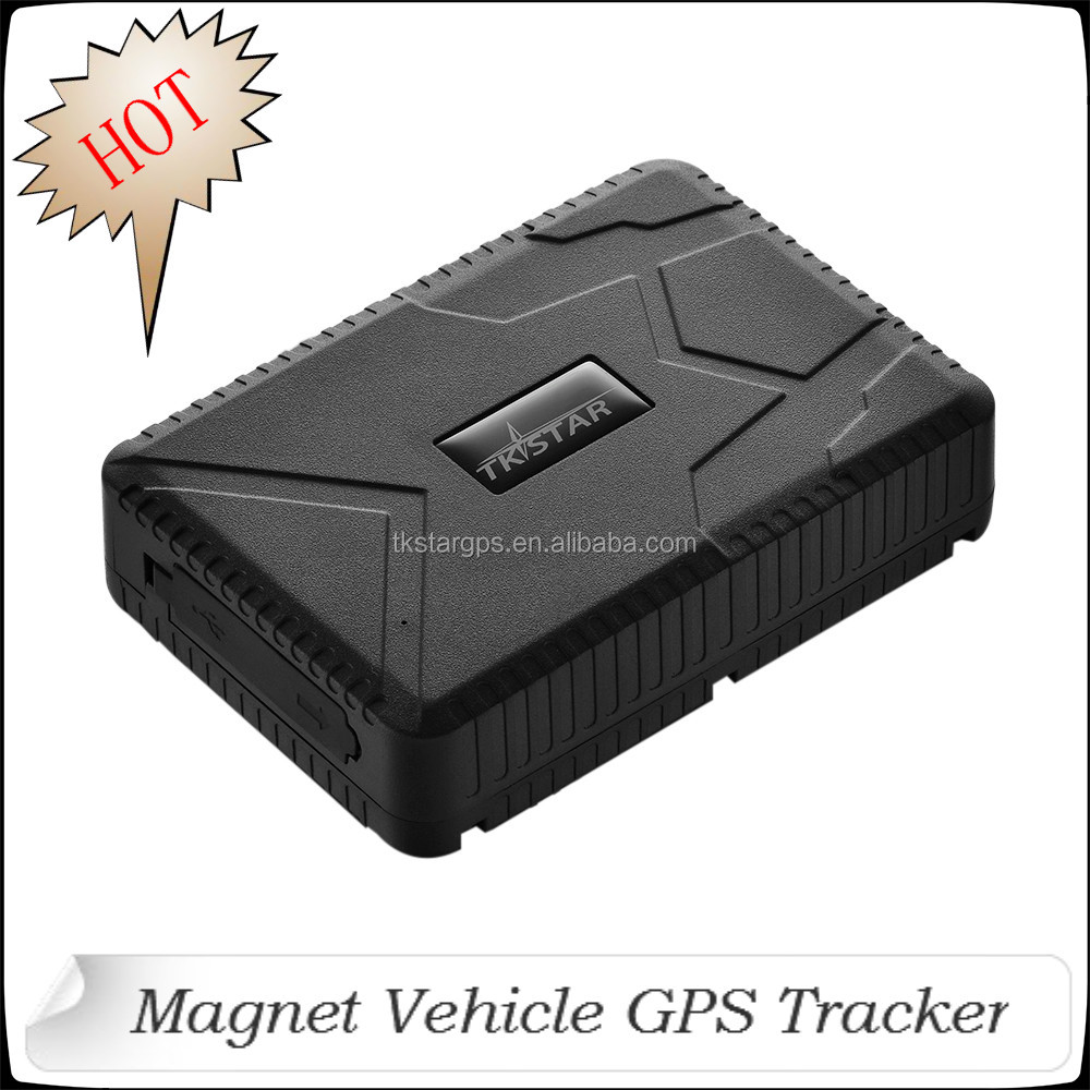 HOT! 10000mAh 4 months Accurate Vehicle Tracker Manual GPS Tracker for Car Lightweight