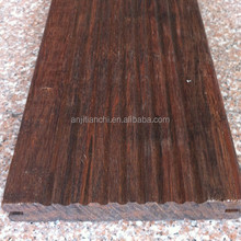 Outdoor Riffle Surface Strand Woven Indoor Bamboo Flooring