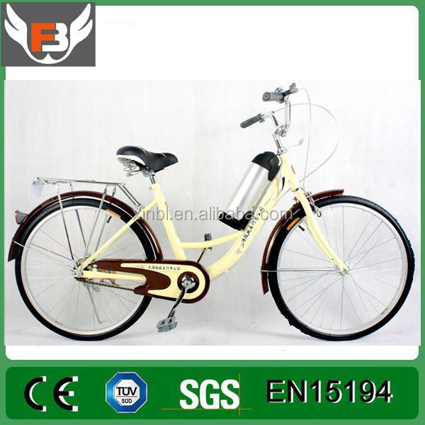 250w 26inch cheap city lady woman Electric fat tire Bicycle/Beach Cruiser e bike/chopper e-bicycle