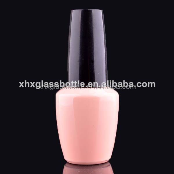 100% Shaded Lovely Color 15Ml Trendy Empty Uv Gel Nail Polish Bottles