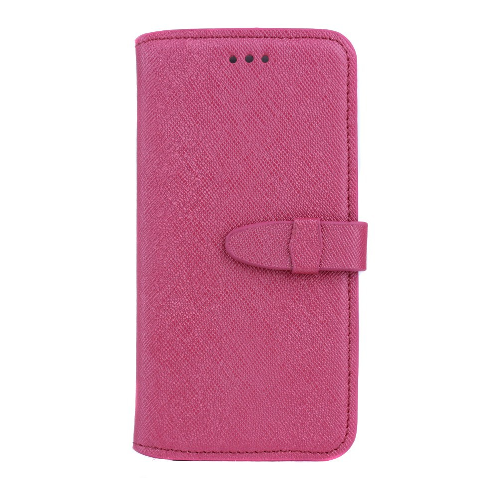 2017 genuine leather waterproof cross stitch phone case for samsung