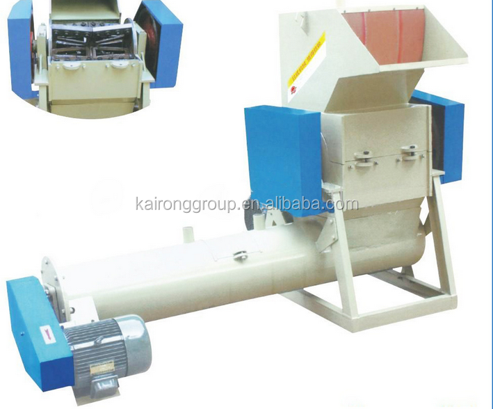 hot sales 300kg/h new used plastic bottle shredder machine at low price