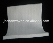 Needle punched nonwoven polyester hard felt pad for mattress material