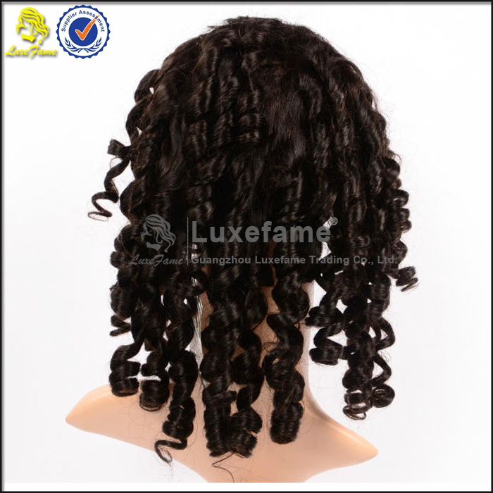 Luxefame hair company names remy brazilian human hair short lace wigs