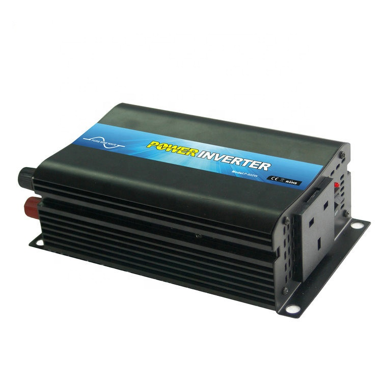 Full Power 500w Pure <strong>Sine</strong> <strong>Wave</strong> car home solar power inverter 12v to 120v dc to ac inversor