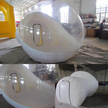 inflatable crystal bubble tent / transparent dome tent for family camping