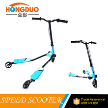 3 wheel adult swing scooter