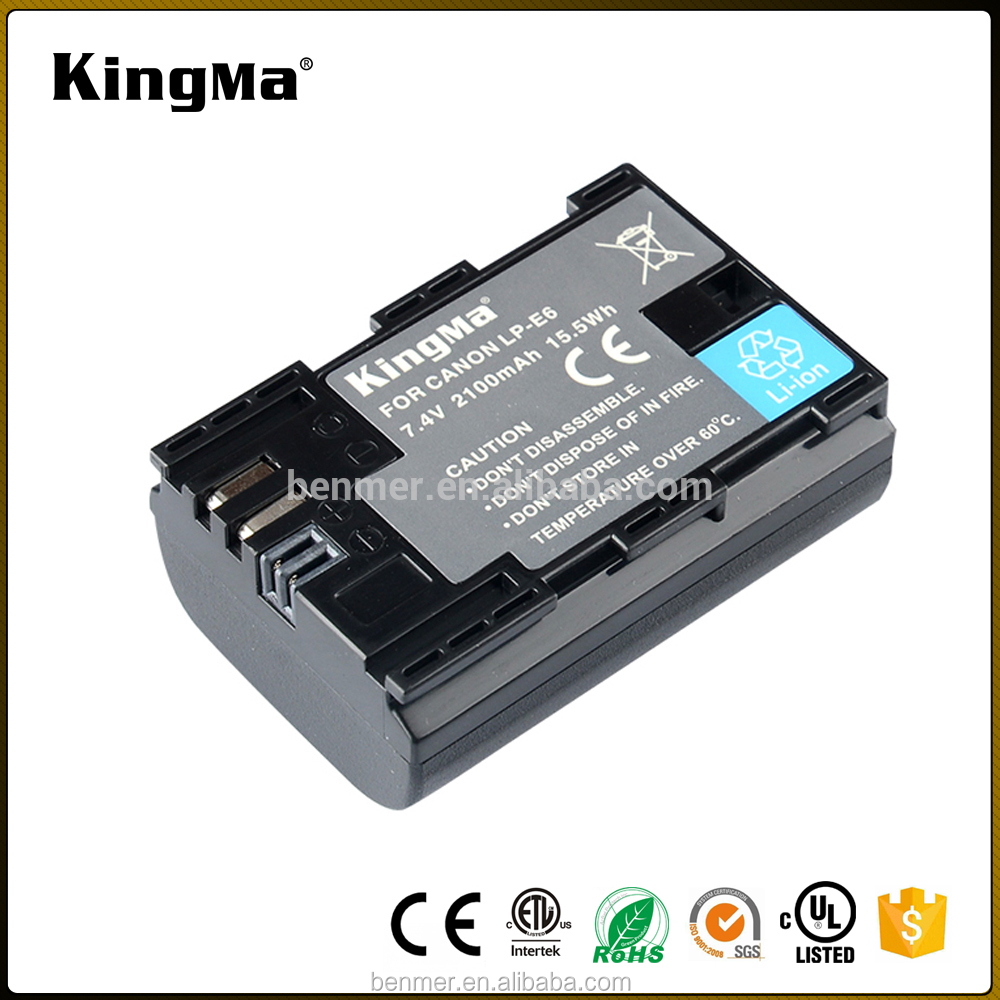 KingMa Digital Video camera battery pack for Canon LP-E6 for Canon EOS 5D Mark3