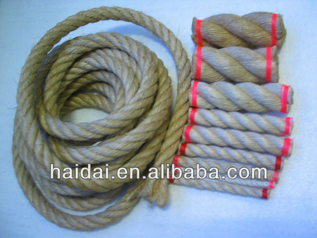 Hard Twisted Sisal Rope/Cord