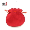 Promotional various colors velvet drawstring jewellery pouch