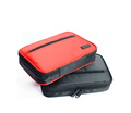 New dasign multifunction waterproof color custom blank plain polyester cosmetic bag