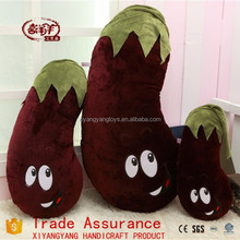Creative cartoon eggplant pillow toy / sofa pillow fruits and vegetables plush doll toys