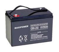 Wind PV system Agm battery deep cycle 12v 6v 24v solar battery 200ah