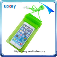 Cell phone universal waterproof case, pvc waterproof bag for phone, mobile cell phone waterproof pouch