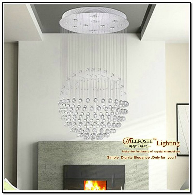 new typ optical fiber crystal pendant hanging lights