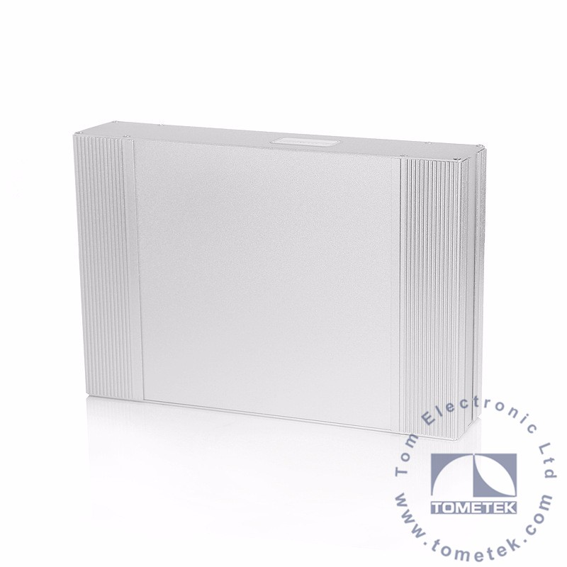 60*250*200 mm custom extruded aluminum enclosures for pcb housing
