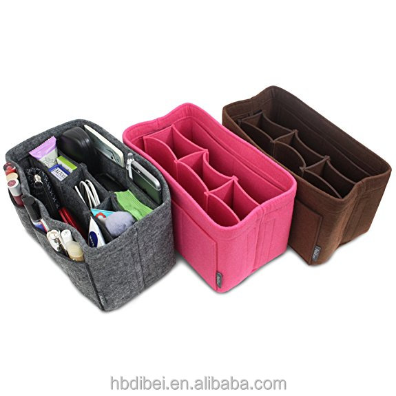 Popular Personalized Soft Felt Cosmetic Bag Made in China
