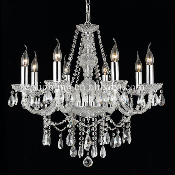 wedding decoration grey oak wood chandelier d8001-5