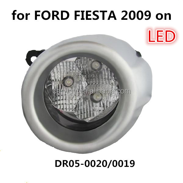 Car parts for FORD FIESTA 2009 on LED the lamp fog light