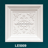 decorative pu / polyurethane ceilings pop design moulds